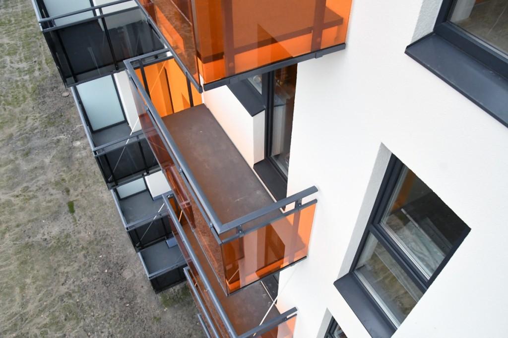 Uus kortermaja Pärnus, Räämal Foto Urmas Saard