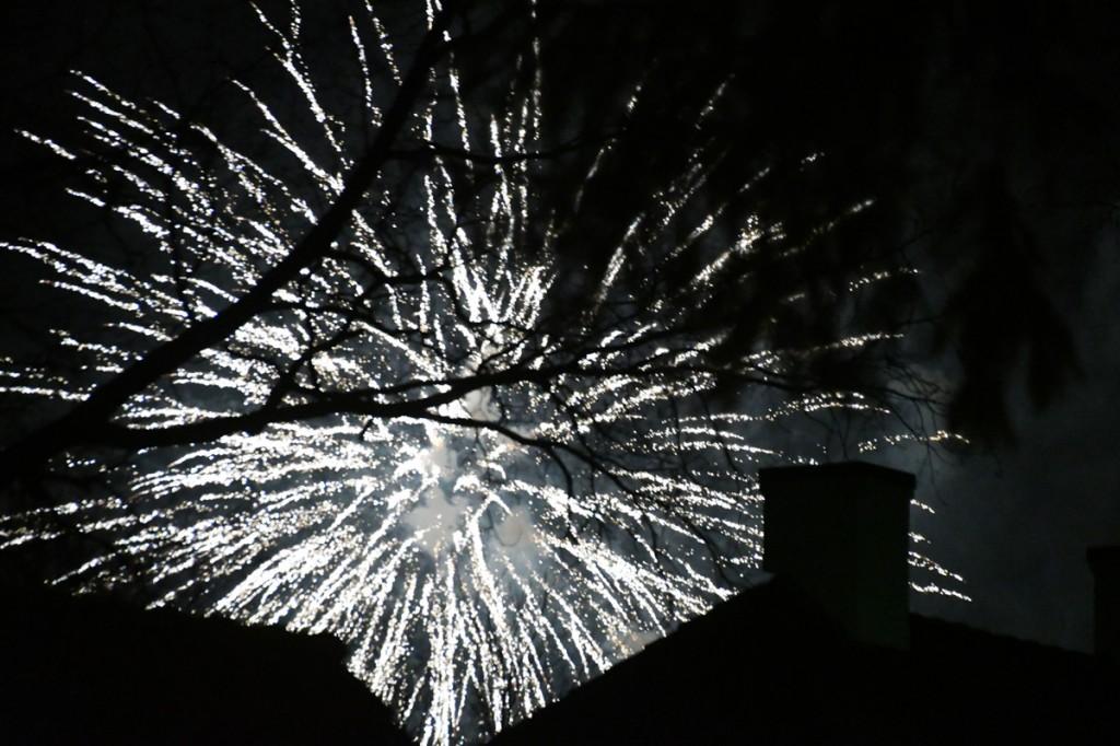 Uusaasta 2018 saabumine Sindi linnas Foto Urmas Saard