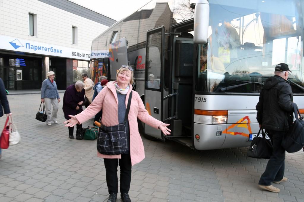 Väärikate seltskond on jõudnud Minskisse Foto Urmas Saard