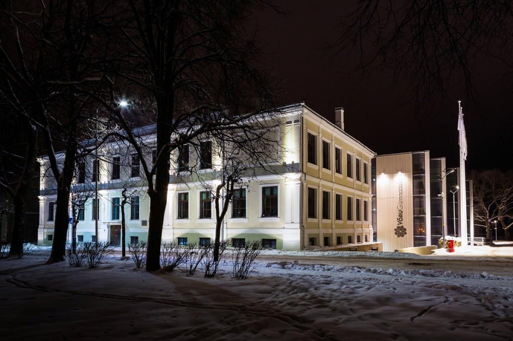 Võru gümnaasiumi hooone Foto Tõnis Anton