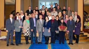 Võrumaa omavalitsuste delegatsioon Riigikogus.