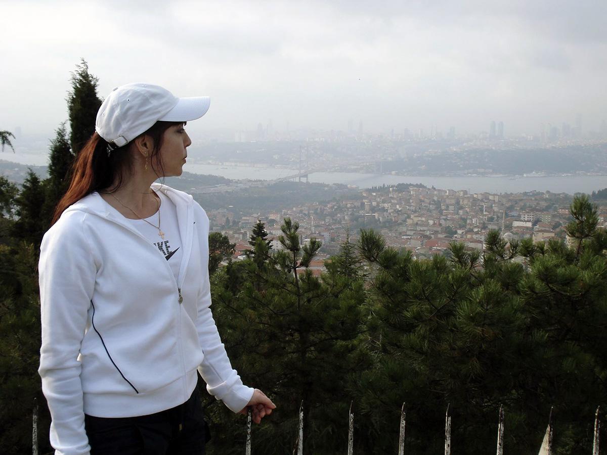 Vaade Türgi suurimale linnale Istanbulile, mille elanike arv ulatub tublisti üle 10 miljoni Foto  Tatjana Grigorjeva-Keerup