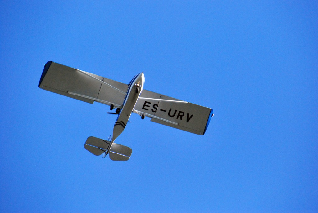 Vaktsiinsöötade külvamine toimub õhust väikelennukite abil Illustratiivne foto Urmas Saard