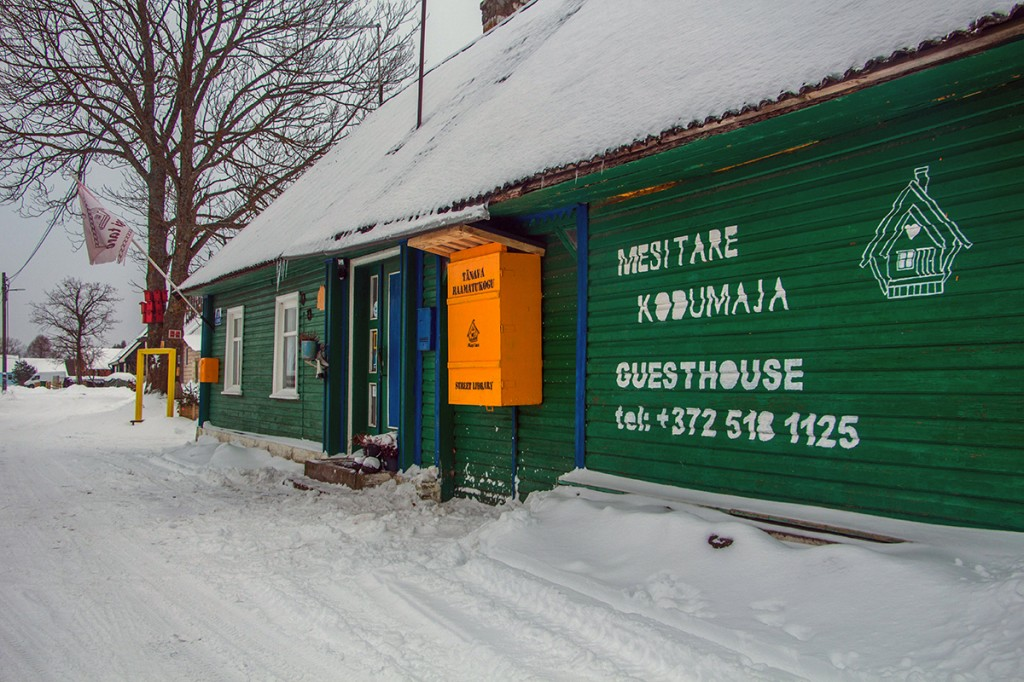 Varnja tänavaraamatukogu avamine