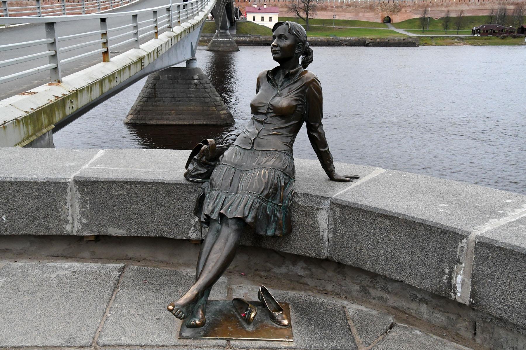 Veliki Novgorodi vihmane sügispäev. Foto Urmas Saard