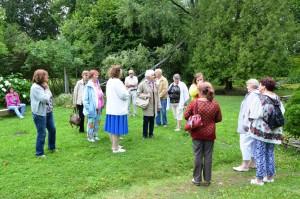 Vestlusring Kirna mõisa pargis