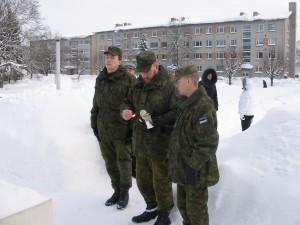 Viru maleva liikmed mälestushetkel. Foto: Tarmo Matti