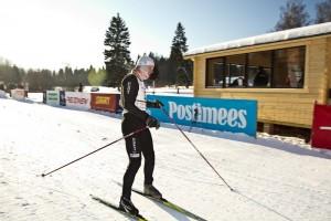 2012. aasta Viru maratoni võitja Even Toomas finišis. Foto: Tarmo Haud
