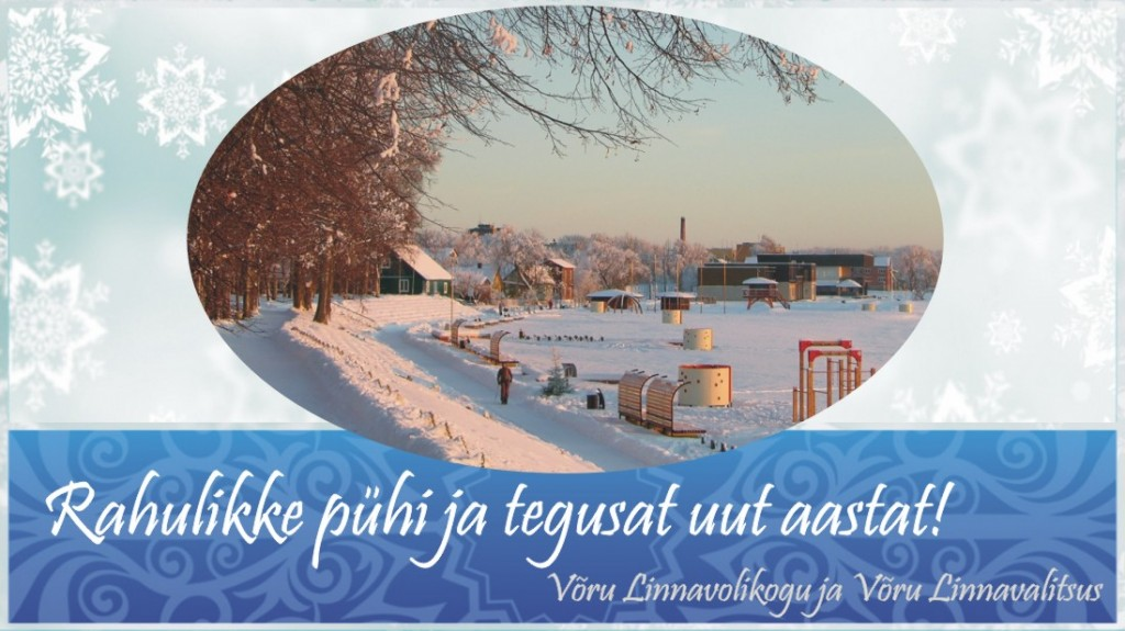Voru_LV_joulukaart
