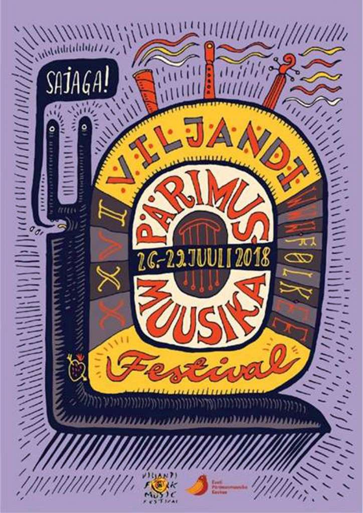 XXVI Viljandi pärimusmuusika festivali tunnuskujundus