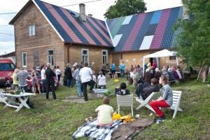 Kasepääl tegutsev kunstimaja amulARToorium tähistas juunis 5. sünnipäeva. Foto: ambulartoorium.blogspot.com