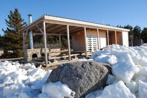 Jää ründas Mujaste küla. Foto: Veljo Kuivjõgi