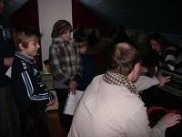 Kuuldemängu salvestamine. Foto Ruhnu blogist