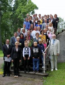 Põlva maavanem tänas Mooste mõisas Põlvamaa kaunimate kodude omanikke.