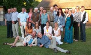 Mahepõllunduse Koostöökogu sel suvel Saaremaal.