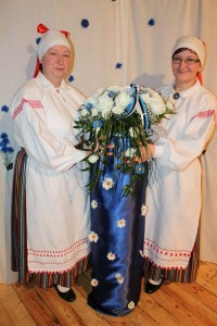 Kauni sündmuse peakorraldajad Riina ja Ive. Foto: Jaanus Mark