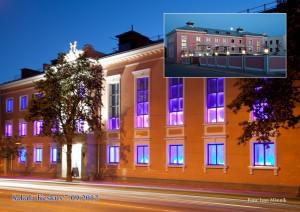 Sakala kultuurikeskus või roosamaja praegu.
