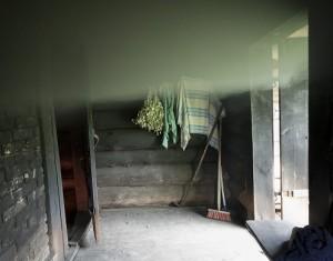 Suitsusauna köetakse Foto: Toomas Kalve