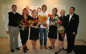 vasakult_Erki Saarman, Ly Berišvili, Aina Kongo, Margus Soome, Anne Morel, Eve Unt, Jüri Kaver