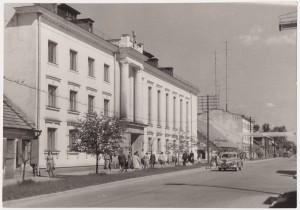 Viljandi kultuurimaja 1960ndatel aastatel.